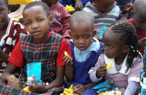 Children who benefited from Emily's support